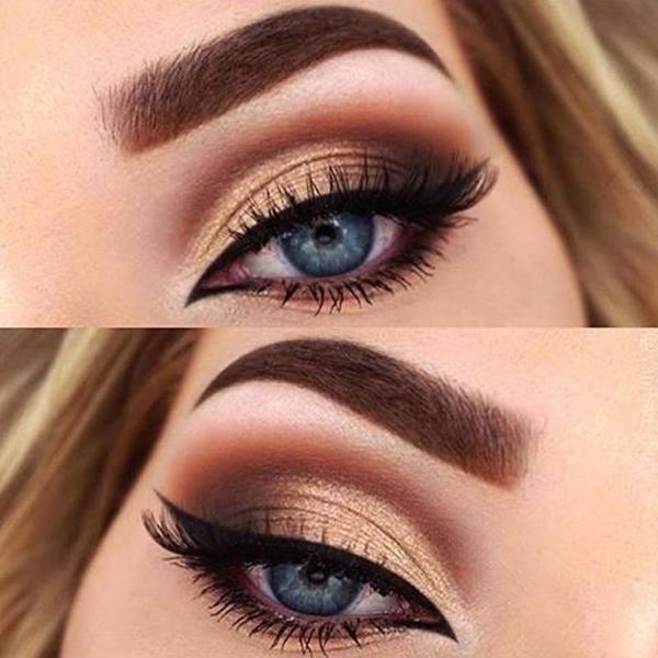 لون العدسات المناسب للعيون الصغيره